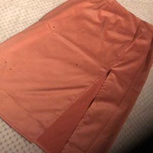 Knee High Slit Skirt